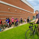 5th Graders 'Bike Hike' to Middle School in NB/GV School District 30